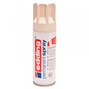 Edding permanent spray 200ml - Creme hvid