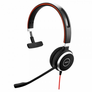 Jabra Evolve 40 MS mono headset USB