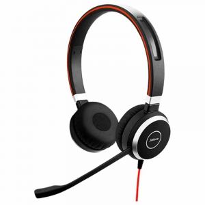 Jabra Evolve 40 MS stereo headset USB