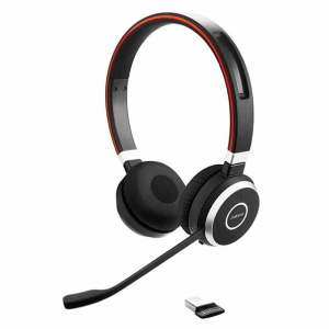 Jabra Evolve 65 MS stereo headset trådløs, bluetooth