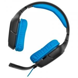 Gaming Headset Logitech G430 med 7.1-surroundsound - Blå