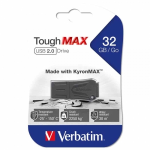 Verbatim ToughMAX USB 2.0-drev 32 GB - SORT