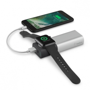 Belkin Lomme oplader Power Pack 6700 mAh t/ Apple Watch + iPhone