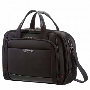 Computertaske Samsonite Pro-DLX4 Bailhandle EXP L Sort 16""