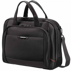 Computertaske Samsonite Pro-DLX4 Bailhandle M Sort 16""