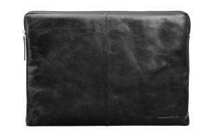 Sleeve 14'' Laptop Case Skagen, sort læder