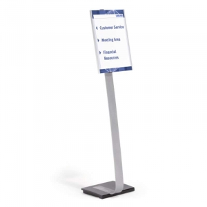 Skilteholder Durable INFO SIGN stand A3