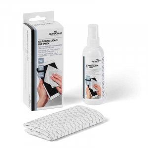 Skærmrens m/ klud DURABLE SCREENCLEAN KIT PRO 100ml