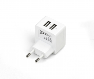 HOME CHARGER 2 USB 2,4 + 1A
