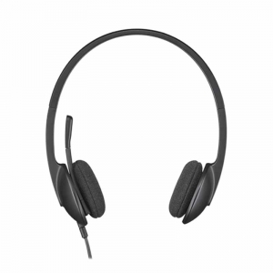 Logitech H340 USB Headset, Sort