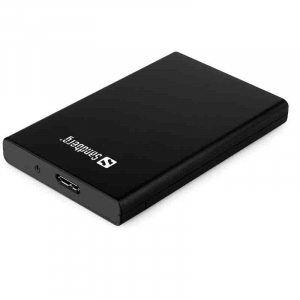 Sandberg USB 3.0 til SATA Box 2.5'' sort