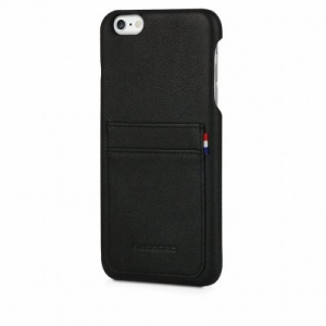 DECODED - LEATHER BACK COVER FOR IPHONE 6/6S PLUS BLACK