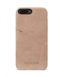 DECODED - LEATHER BACK COVER FOR IPHONE 6/6S/7 PLUS ROSE