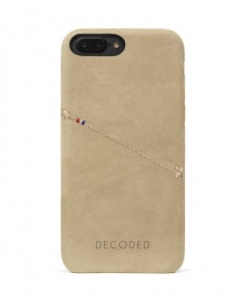 DECODED - LEATHER BACK COVER FOR IPHONE 6/6S/7 PLUS SAHARA
