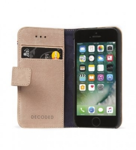 DECODED - LEATHER WALLET CASE FOR IPHONE 5/5S/SE ROSE