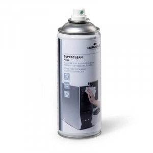 DURABLE SUPERCLEAN FOAM Plast renseskum 400ml
