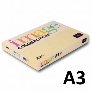 Kopipapir Image Coloraction A3 80g chamois (54) - 500ark/pk