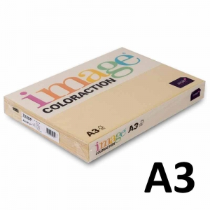Kopipapir Image Coloraction A3 80g sand beige (14) - 500ark/pk