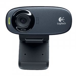 Logitech HD WEBCAM C310 - Sort