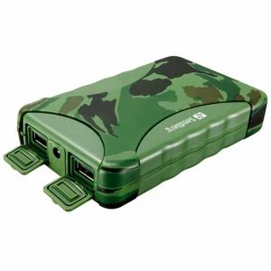 Sandberg Outdoor Powerbank 10400 mAh -  Military Grøn