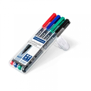 Staedtler Lumocolor permanent pen 317 (M) 1,0mm - 4stk/pk