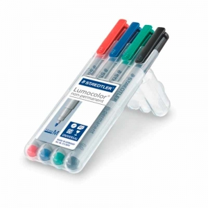 Staedtler Lumocolor non-permanent pen 315, 1mm - 4stk /pak