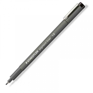 Fineliner Staedtler Pigment liner 308, 1,0mm - Sort