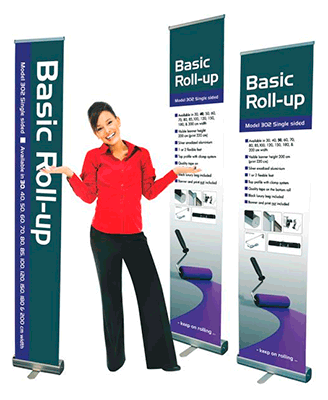 Basic Roll-up stands
