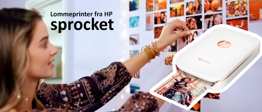 Lommeprinter HP Sprocket